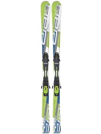Горные лыжи с креплениями Elan E/Flex 6 Erise Green QT + EL 10.0 11/12