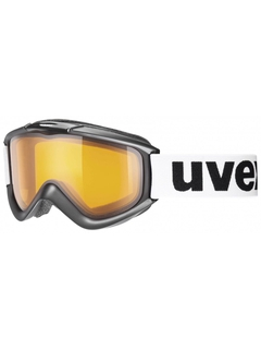 Маска Uvex Fx Black / Lasergold LiteClear