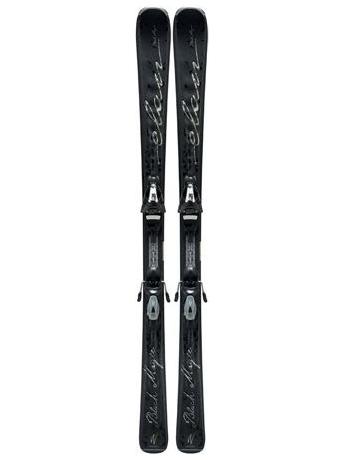 Горные лыжи с креплениями Elan Black Magic QT + ELW 9 12/13
