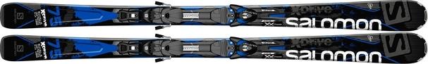 Горные лыжи Salomon X-Drive 75 + Z10 (14/15)