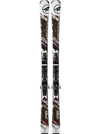 Горные лыжи с креплениями Rossignol Zenith Z76 Basalt + Axium 110L TPI2 11/12