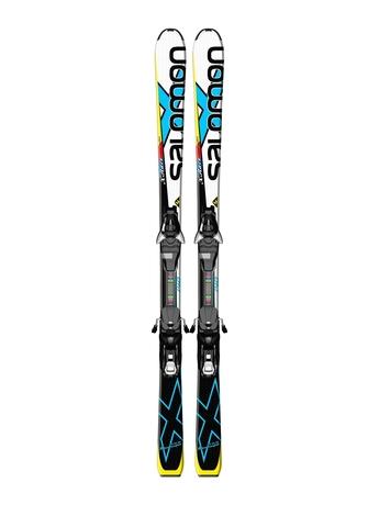 Горные лыжи Salomon X-Race Jr M + EZY7 14/15