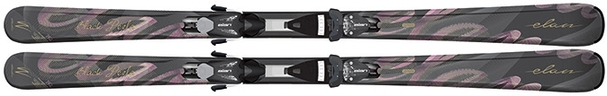 Горные лыжи Elan Black Perla QT + EL 7.5 (14/15)