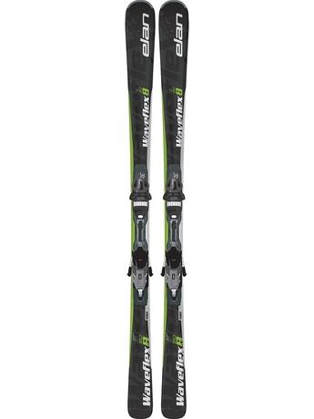 Горные лыжи Elan Waveflex 8 QT + крепления EL 10 14/15