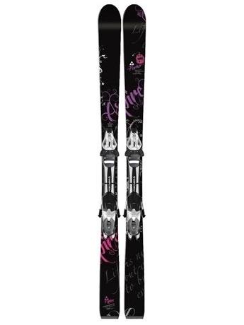 Горные лыжи с креплениями Fischer Aspire black FP9 + RS 10 12/13