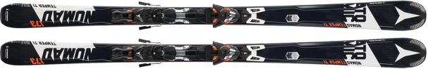 Горные лыжи Atomic Temper Ti (173) + крепления XTO 12 (15/16)