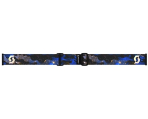 Маска Scott Off-Grid Cosmic Camo Blue / Green Chrome