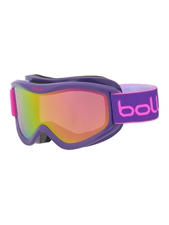 Детская маска Bolle Volt Plus Purple Blocks / Rose Gold