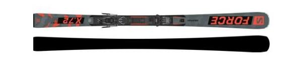 Горные лыжи Salomon S/Force X72 + крепления M10 GW L80 21/22 (20/21)