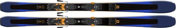 Горные лыжи Salomon XDR 84 Ti + крепления Warden MNC 13 Demo (18/19)
