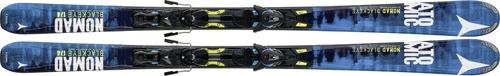 Горные лыжи Atomic Blackeye + XTO 12