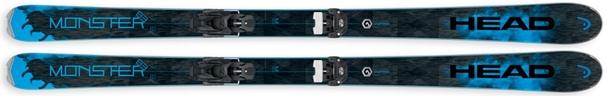Горные лыжи Head Monster 83 + крепления Attack 13 (16/17)