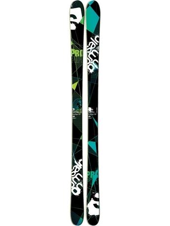 Горные лыжи Salomon Pro Pipe Black/Green/ Wi 11/12