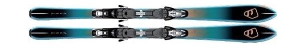 Горные лыжи без креплений Salomon BBR 7.5 без креплений (12/13)