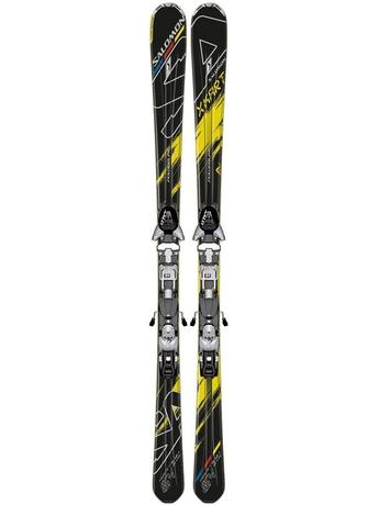 Горные лыжи с креплением Salomon K 24 X-Kart + Z12 12/13