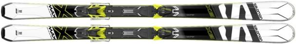 Горные лыжи Salomon X-Max X8 + крепления XT 10 (17/18)