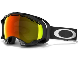 Маска Oakley Splice Jet Black / Fire Iridium