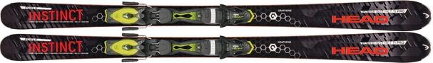 Горные лыжи Head Power Instinct Ti Pro без креплений (15/16)