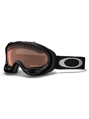 Маска Oakley A-Frame Snow Jet Black / H.I. Yellow