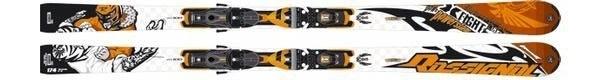 Горные лыжи Rossignol X-Fight 1 Oversize + крепления AXIAL2 120 TPI2 (07/08)