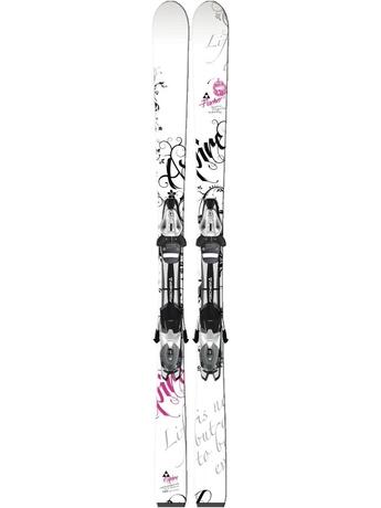 Горные лыжи с креплениями Fischer Aspire white FP9 + RS 10 12/13