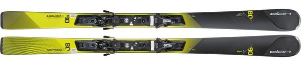Горные лыжи Elan Amphibio 80Ti PS + крепления ELS 11 (16/17)