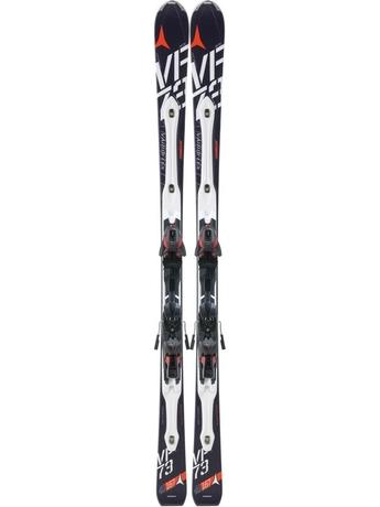 Горные лыжи с креплениями Atomic D2 VF 73 black + XTO 10 12/13