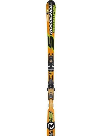 Горные лыжи Rossignol Radical R9S TI Oversize + крепления AXIAL2 140 TI TPI2 07/08