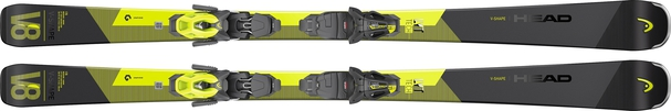 Горные лыжи Head V-Shape V8 + крепления PR 11 (20/21)