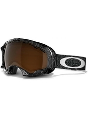 Маска Oakley Splice Silver Factory / Black Iridium