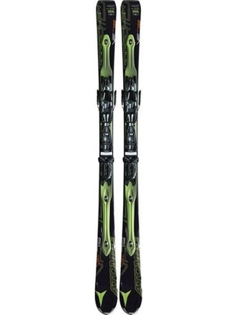 Горные лыжи с креплениями Atomic D2 VF 75 (black-green) + NEOX TL 10 OME 11/12