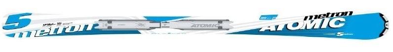 Горные лыжи Atomic Metron 5 + крепления 4Tix 310 2008 (07/08)