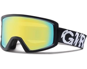 Маска Giro Station Black Static /Loden Yellow 21