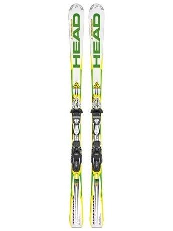 Горные лыжи с креплениями Head iSupershape Magnum SW SPF13 + FREEFLEX Pro 14 12/13