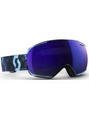 Маска Scott Linx Ink Blue / Solar Blue Chrome + Light Amplifier