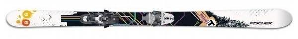 Горные лыжи Fischer Misfit + крепления X17 (07/08)