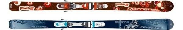 Горные лыжи Rossignol Passion III + крепления SAPHIR 90 TPI2 (07/08)