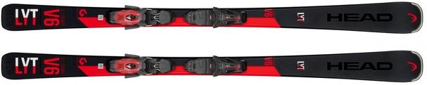 Горные лыжи Head V-Shape V6 + крепления PR 11 (19/20)