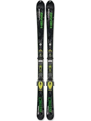 Горные лыжи Head Raw Instinct Ti Pro + PR 11 15/16
