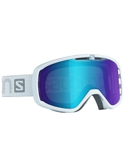 Маска Salomon Aksium White / Mid Blue Multilayer
