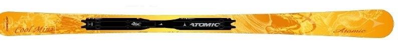 Горные лыжи Atomic Cool Minx yellow + крепления 4TIX 310 80 07/08 (07/08)
