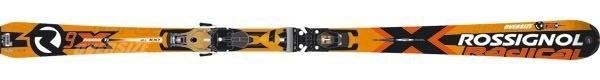 Горные лыжи Rossignol Radical R9X TI Oversize + крепления AXIAL2 140 TI TPI2 (07/08)