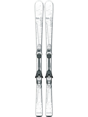 Горные лыжи с креплениями Salomon Pure White + JL9 B80 B 11/12