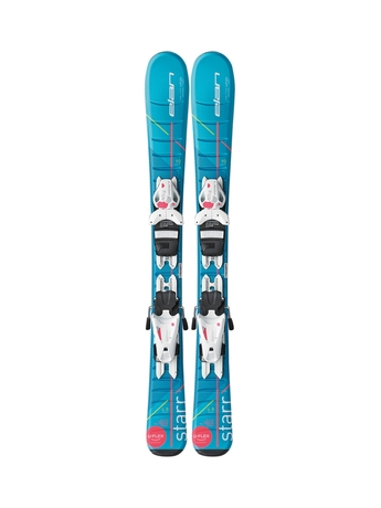 Горные лыжи Elan Star QT + крепления EL 4.5 (70-100) 16/17