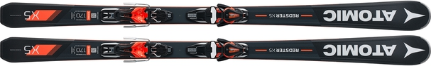 Горные лыжи Atomic Redster X5 (170) + крепления Mercury 11 (17/18)