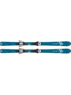 Горные лыжи Salomon QST Max Jr M + крепления L6 GW