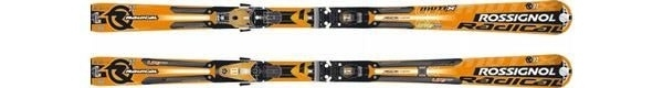 Горные лыжи Rossignol Radical R11 Mutix + крепления AXIAL2 140 TI TPI2 MUTIX (07/08)