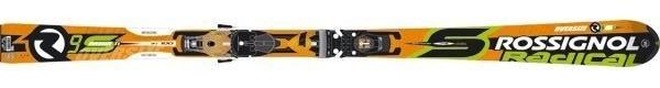 Горные лыжи Rossignol Radical R9S TI Oversize + крепления AXIAL2 140 TI TPI2 (07/08)