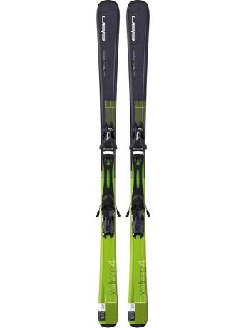 Горные лыжи Elan Explore 4 QT + EL 10.0 15/16