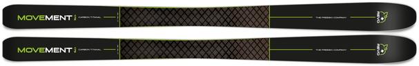 Горные лыжи Movement Revo Titanal 82 + крепления Freeski 110 (18/19)